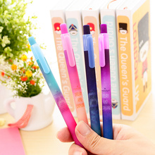 60 pcs/Lot Beautiful starry sky gel pen Star dream and explore black ink pens Stationery Office material School supplies FB585