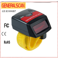 GS03 Portable Anneau Barcode 1D Scanner Sans Fil Barcode Reader Meilleur Vendeur Scanner Bluetooth Disponible Chine Fait