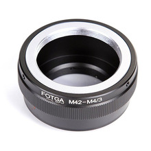 Lens Adapter Ring M42-M4/3 For Olympus E-P1 EP-2 M42 and Micro 4/3 M4/3 Mount for Panasonic Promotion