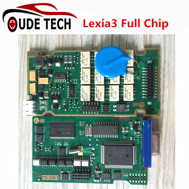 Best Quality Lexia 3 PP2000 Diagbox 7.82 Full Chip 921815C For Lexia3 Citroen Peugeot Diagnostic Tool Lexia-3 PSA XS Evolution