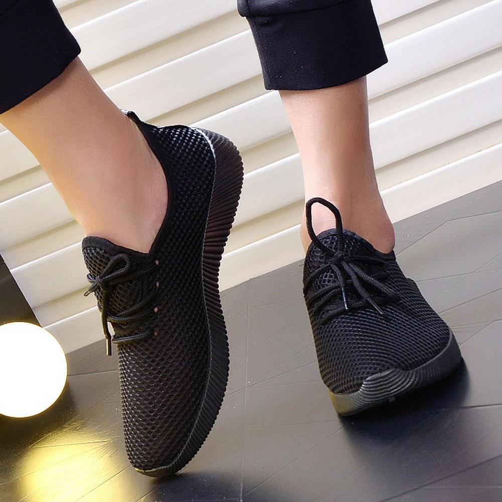 Hombres Transpirables Sólida Cruz gray 2018 Atada Hombre blue Zapatos Casuales Ventilación Malla Black Nuevos Zapatillas rTU0wgqr