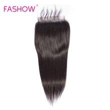 Fashow 6*6 레이스 클로저 pre는 아기 머리 레미와 함께 뽑아 냈다 인간의 머리카락 큰 크기 6x6 폐쇄 자연 헤어 라인 표백 매듭