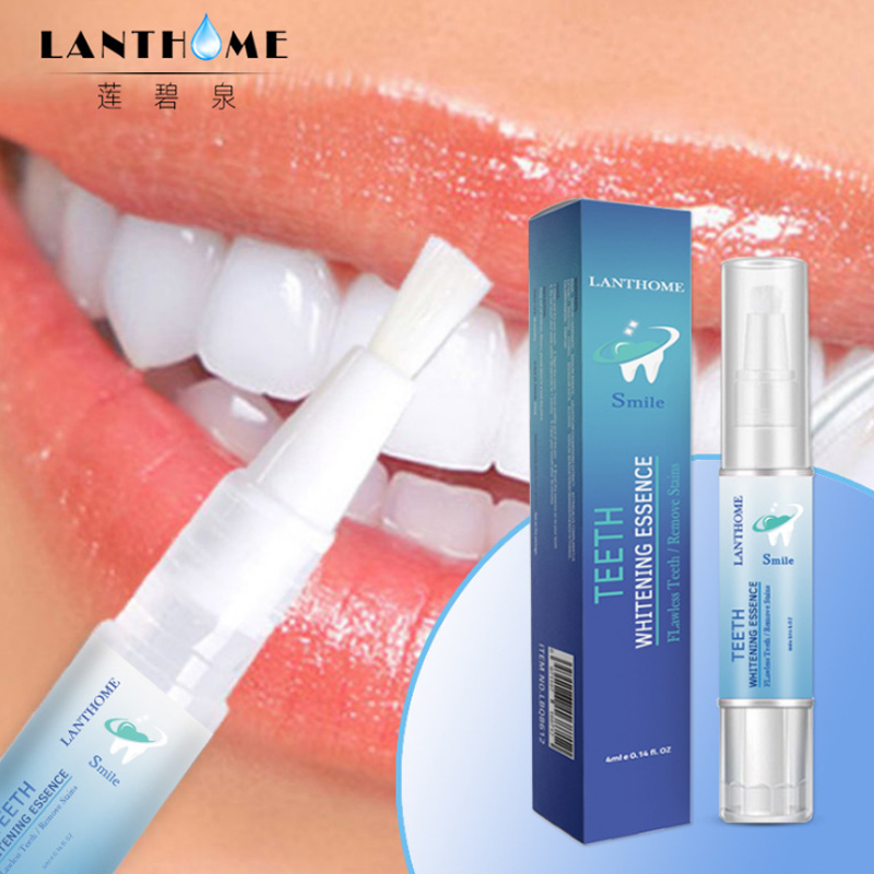 Lanthome 3D Teeth Whitening Pen Whitening Gel Bleach Remove Stains Oral Hygiene Instant Smile Pro Nano Teeth Whitening Kit