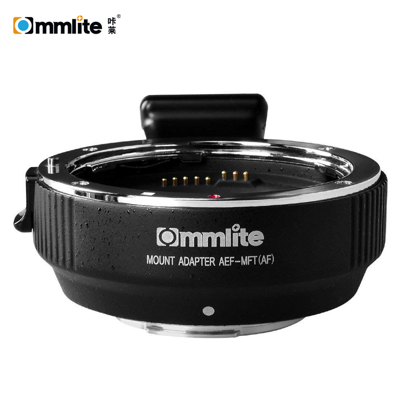 Commlite Electronic AF Lens Adapter Ring for Canon EF EF S Lens to Micro Four Thirds