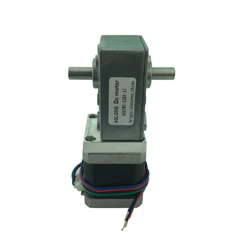 A58SW-42BYS 4-Wire Stepping Gear Motor DC Stepping Gear Motor 12V-24VA58SW-42BYS 4-Wire Stepping Gear Motor DC Stepping Gear Motor 12V-24V