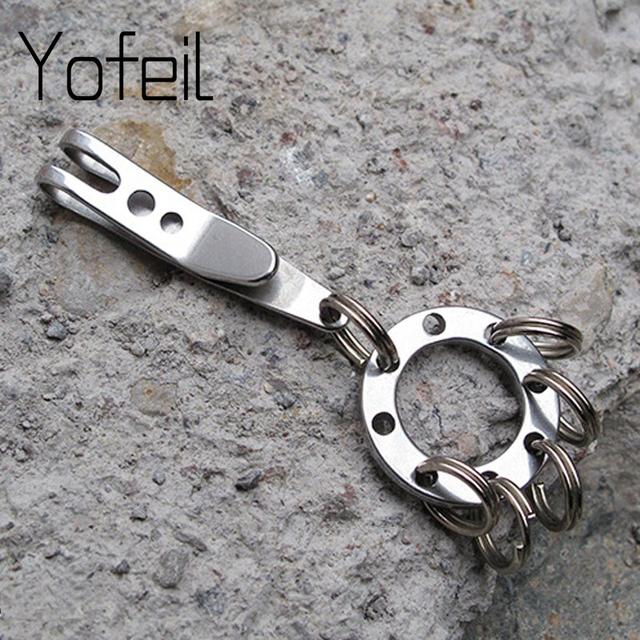 Multi-use Circular Keychain