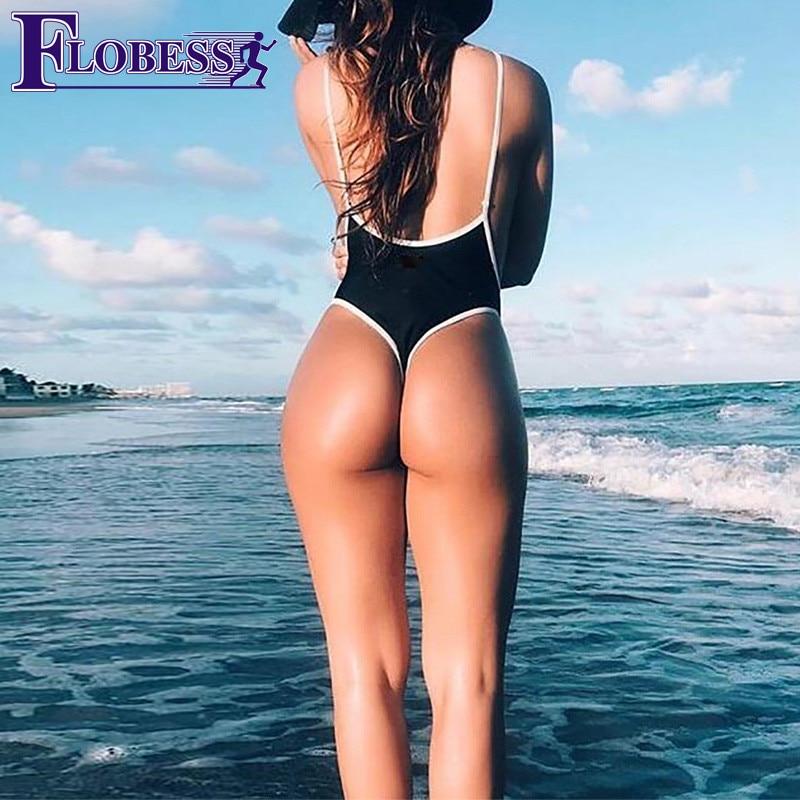 FLOBESS 2018 Summer Sexy Swim Bodysuits Womens