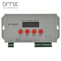 Mokungit K-1000C T-1000S verbesserte version LED pixel sd-karte controller; off-line; 2048 pixel gesteuert; SPI signalausgang;