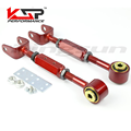 Rear Adjustable Alignment Suspension Camber Toe Kit/Traction Control Rod For 03-11 Honda Element/ 02-06 CR-V Red Color KSP