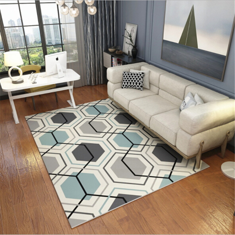 2018 New Creative Soft Large Carpets For Living Room Bedroom Kid Room Area Rug Fashion Delicate