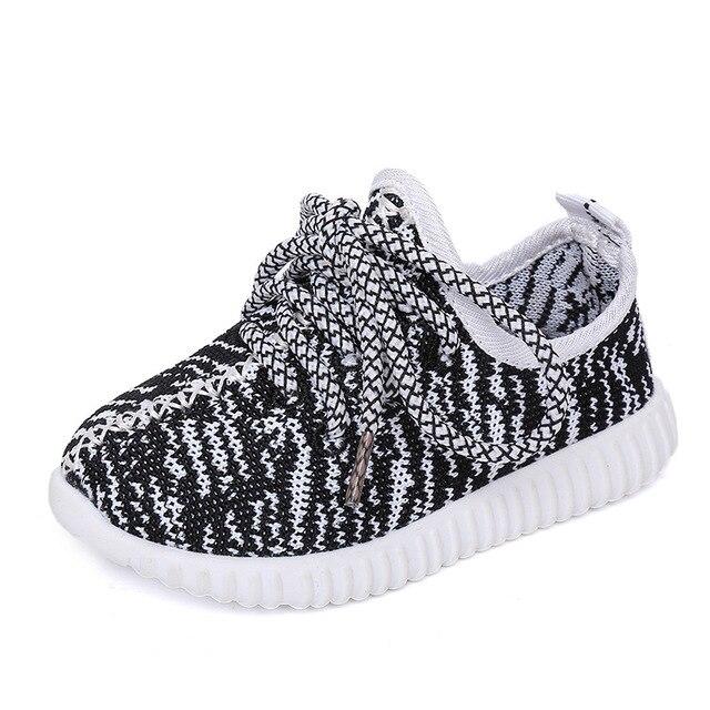 369fdba4e STAN SHARK New Children Shoes Boys Girls Sneaker Breathable Kids Lace Up  Sport Mesh Shoes 4 colour Size 21-35