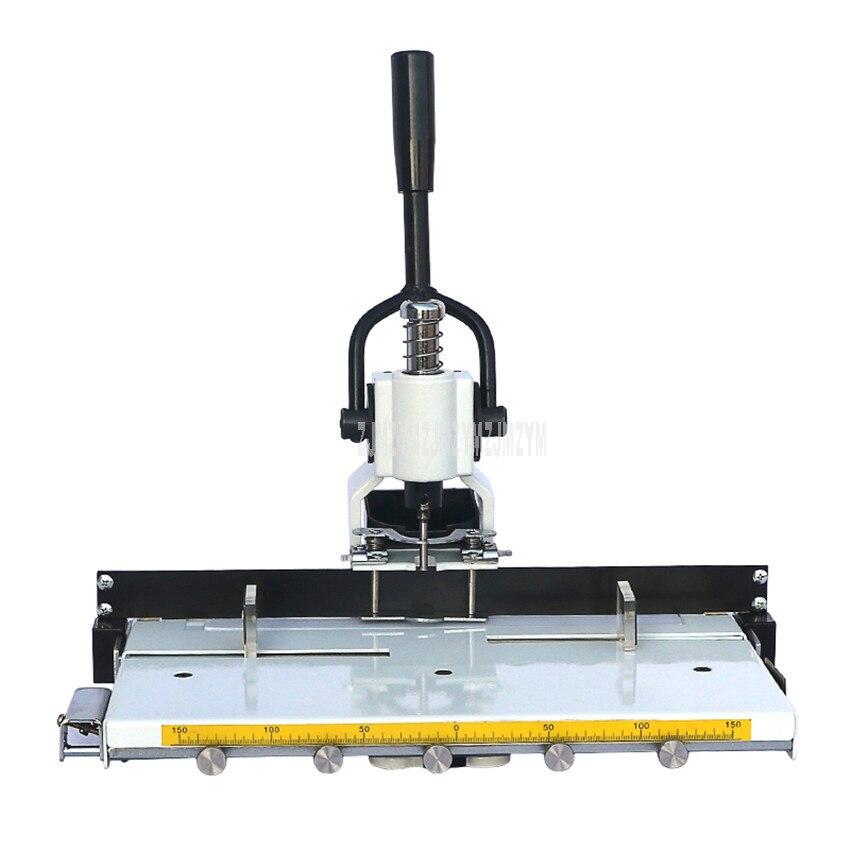 Machine à relier de perforateur de trou de papier de tête simple de bureau d'épaisseur de 3 cm pour des fichiers de livre poinçonneuse manuelle de trou de papier
