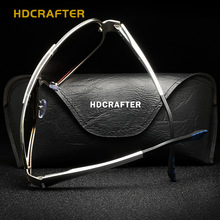 HDCRAFTER 2017 Luxury Brand Classic Polarized Sunglasses Men HD Inner Coating High-Grade Yurt Sunglasses Fishing Driving Goggle