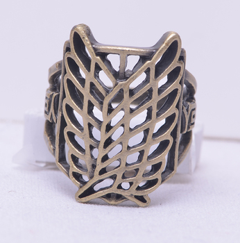 Аниме кольцо Атака Титанов 18 мм 1