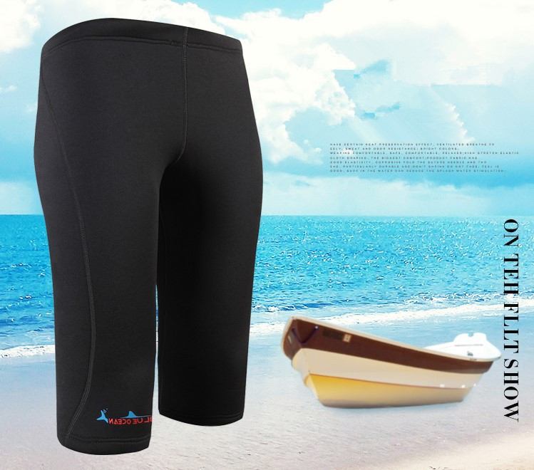 Новый стиль неопреновый жилет для Гидрокостюма + шорты для женщин 2 мм серфинг для купания костюм из двух частей для плавания Подводное плавание с длинными рукавами гидрокостюмы - 4