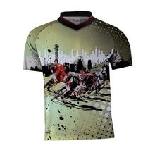цена на 2019 New Enduro bike jersey motocross bmx racing jersey downhill dh short sleeve cycling clothes seven mx summer mtb t-shirt