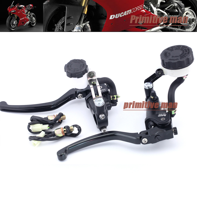 For DUCATI Streetfighter 848 13-15/ Streetfighter 1100 09-13/ GT1000 Radial Clutch & Brake Master Cylinder Levers