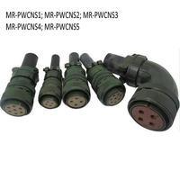 Frete Grátis Plugue Da Aviação Conector MR PWCNS1 (MS3106B22 23S) MR PWCNS2/S3/S4/S5 para Mitsubishi MR J2 Servo Motor|connector plug|connector mitsubishi|connector motor -