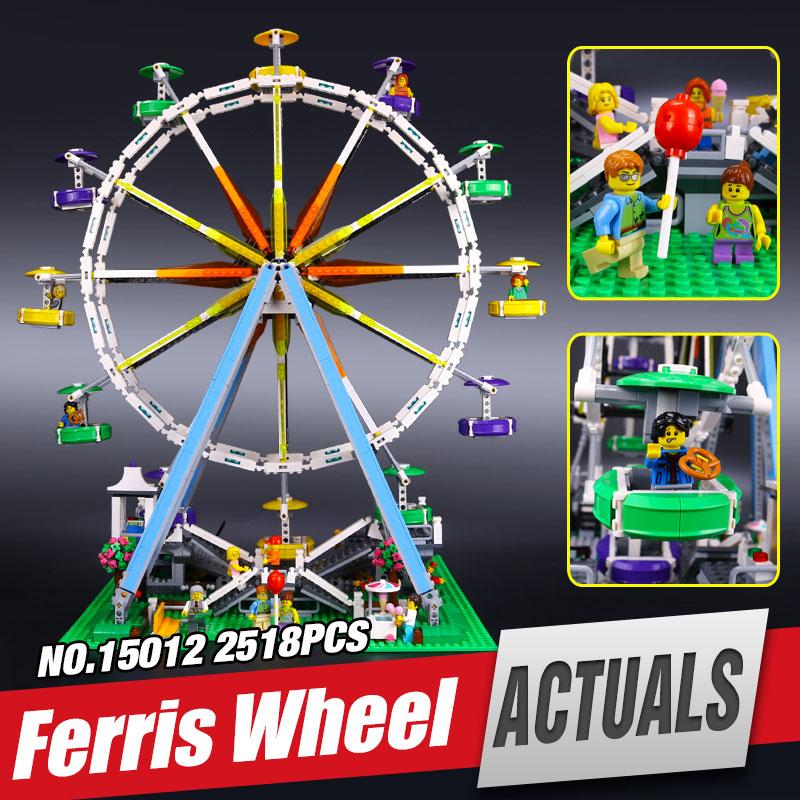 LEPIN 15012 series the Ferris Wheel model Educational buildis