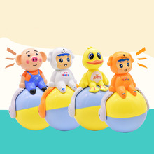 Buy Tumbler Toys for Boys Girls Toddler Baby Cute Cartoon Music Bell Learning Education YJS Dropship directly from merchant!