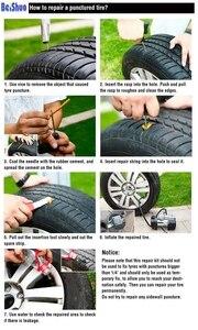 Image 5 - 2018 nuevo y mejorado 7 unids/set Reparación de neumáticos de coche Kit de herramientas sin emergencia camión motocicleta bicicleta neumático rápido punción macho bloque