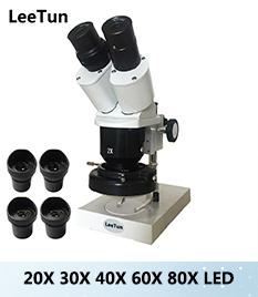 Купить 40x Оптический Бинокулярный Стерео Микроскоп для ремонта сотового телефона Мобильный Телефон и PCB Инспекции с Окуляр WF10X 4x Цель дешево