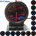 Free Shipping: 13 Colors-In-One 60mm Defi Advanced BF Vacuum Meter Gauge for Car
