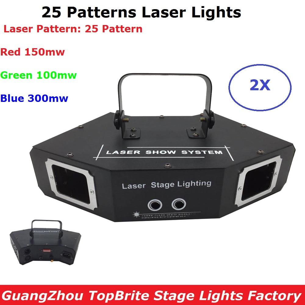 Free Shipping 2XLot RGB 550mW DMX512 Laser Line Scanner Stage Lighting Effect Projector Light DJ Dance Bar Xmas Disco Show