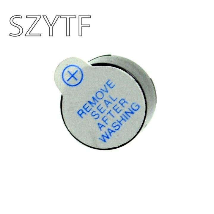 Бесплатная доставка 20 штук 5 В Мини Магнитный активность Звуковой сигнал звонка черный