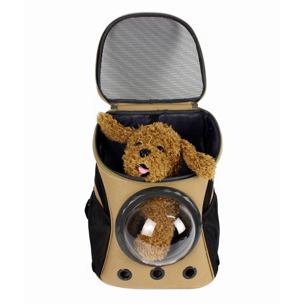 Новый Портативный дорожный аксессуар пространство Capsule транспорта собака сумка для маленький щенок Cat Carrier Рюкзак клетка