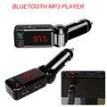Transmisor FM Bluetooth Car Kit Manos Libres Reproductor Mp3 Aux Transmissor FM Modulador con Pantalla LED Cargador Portátil Dual USB