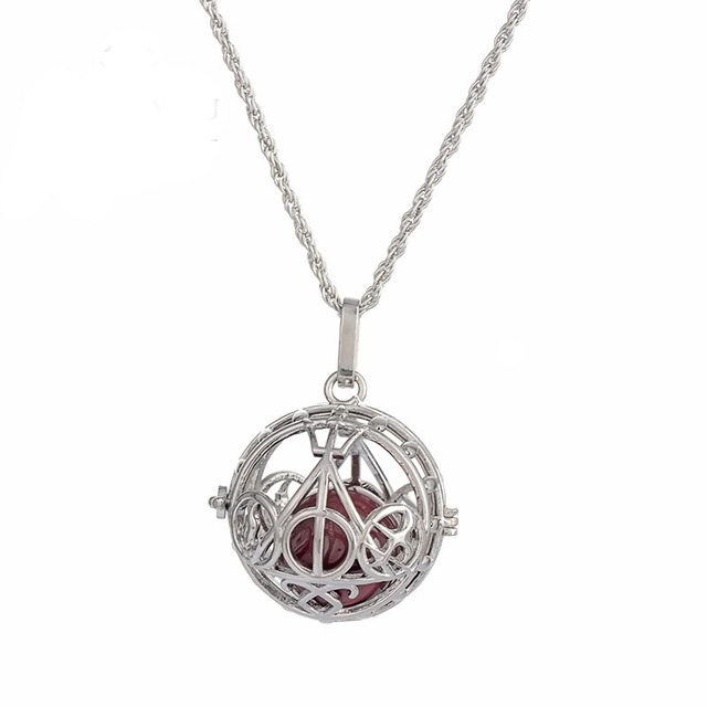 Pregnancy Necklace wish box Mexican Bola Harmony Ball bell Mother