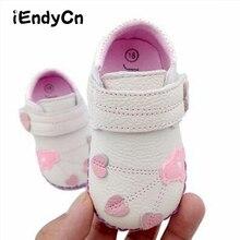 Baby Leather Shoes Newborn Soft Bottom Summer Girls Toddler Cute Princess Leaf Pattern YD542