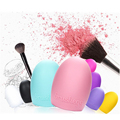Fashion Cute Colorful Mini Egg Brush Makeup Foundation Sponge Blender blending smooth Brush wash Tool