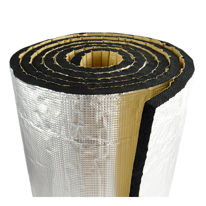 50cm*400cm Car Hood Engine Firewall Heat Mat Deadener Sound Insulation Adhesive Heat Insulation Material For Roof And Glass