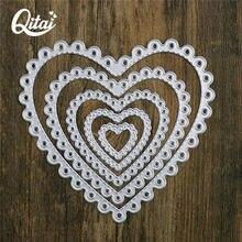 Qdai 5 шт металлические режущие штампы трафареты для скрапбукинга