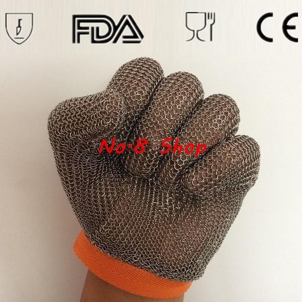 304/316 316L stainless Cut <font><b>Resistant</b></font> Proof <font><b>Gloves</b></font> Butcher Equipment Tool Safety <font><b>Gloves</b></font> Meat Procress Chain Mail Protective <font><b>Glove</b></font>