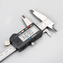 цена на Measuring Tool Stainless Steel Digital Caliper 6 150mm Messschieber Measurement Instrument Caliper Vernier Compasses