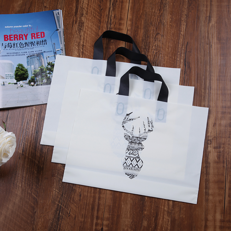 50pcs Plastic bag personality creative art hollow scorpion clothing shop gift bag plastic glue handbag