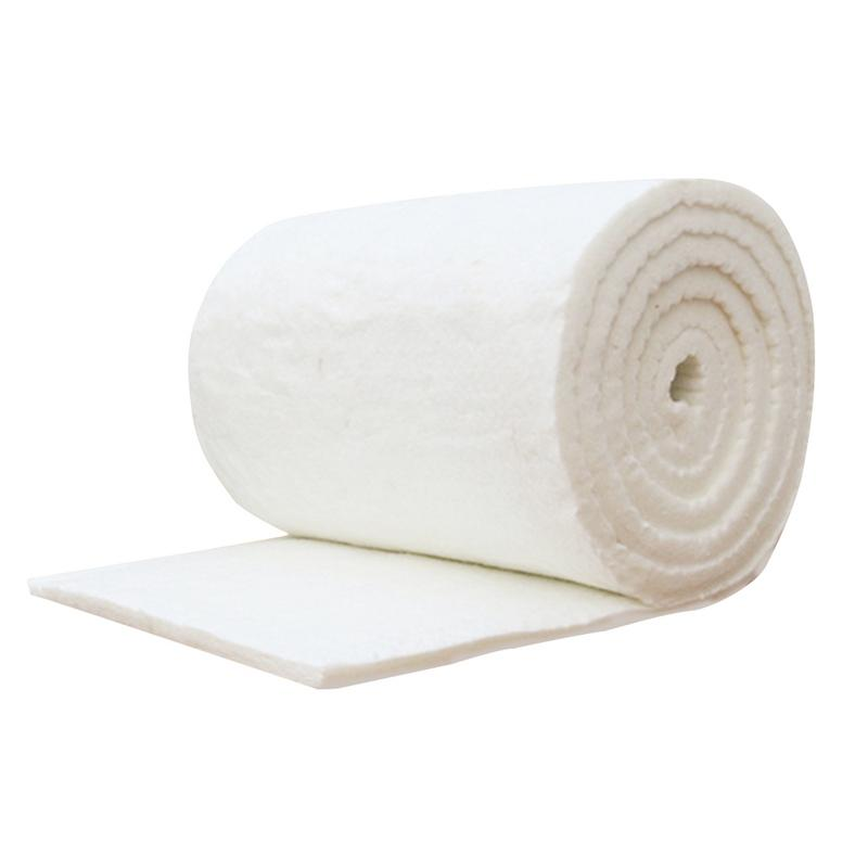 Image 5 - High Temperature Boiler Insulation Aluminum Silicate Needle Ceramic Fiber Insulation Cotton Refractory Fireproof Cotton Blanket-in Tool Parts from Tools