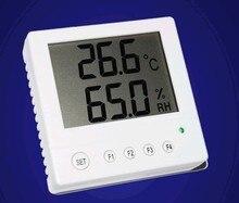 20pcs x RS485 רשת LCD LCD גדול מסך מדחום טמפרטורה ולחות חיישן משדר STH10 בדיקה חדש
