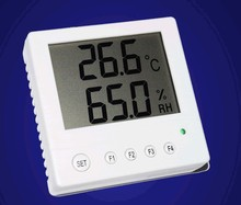RS485 network LCD LCD large screen thermometer temperature and humidity  sensor transmitter STH10 probe new