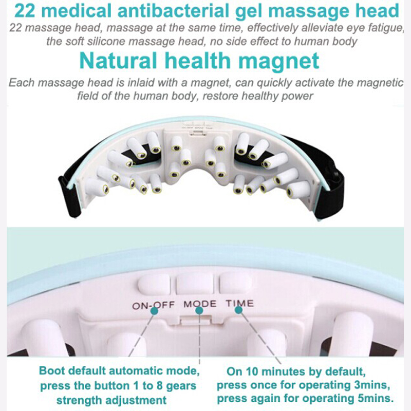 HFR 997 1 Health Forever Brand Wireless Battery Operated Vibrator ion inductor Eye Massager
