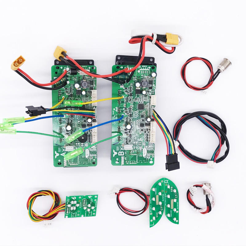 Hoverboard Double System Control Board Motherboard PCBA for 6.5 8 10 Inches 2 Wheels Self Balancing Electric Scooter Skateboard hoverboard electric scooter motherboard control board pcba for oxboard 6 5 8 10 2 wheels self balancing skateboard hover board