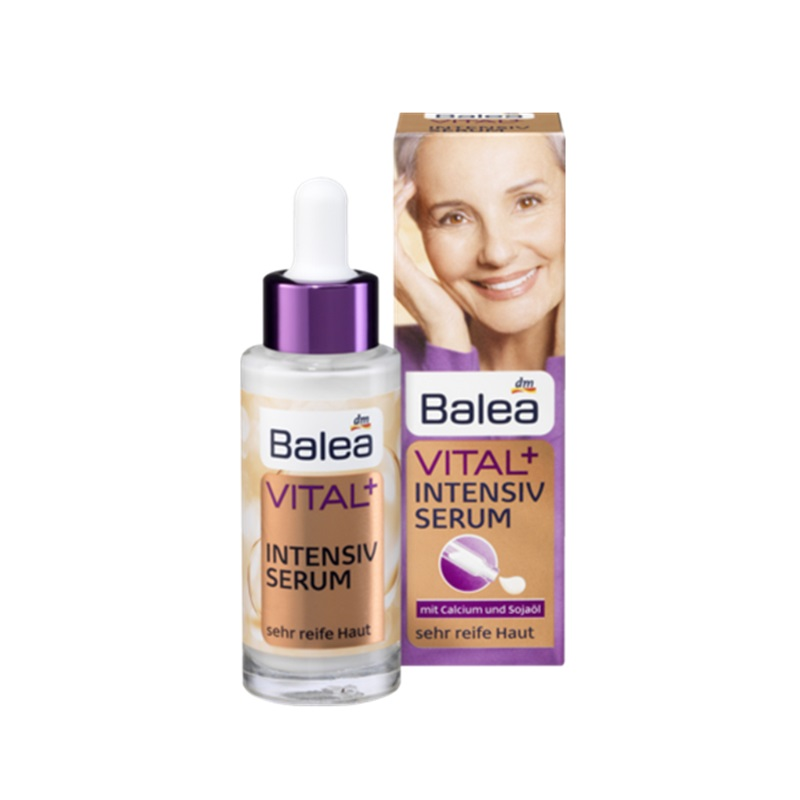 Germania Balea Vitale + Siero Intensivo per la Pelle Matura di Argan olio di Vitamina e Stringere La pelle Anti Rughe cura Altamente efficace formula