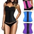 Corsé de látex cinturilla latex entrenador cintura corsés de cintura de látex corsé corpete corselet corpetes e espartilhos C699