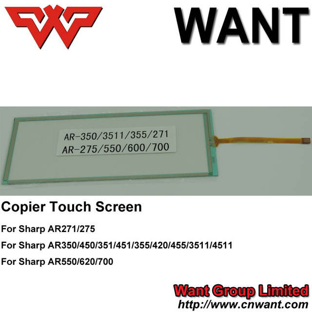 US $35 89  Copier parts AR351 AR451 copier touch panel touch screen For  Sharp photocopier parts-in Printer Parts from Computer & Office on