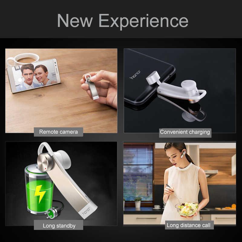 Orijinal Huawei Onur Bluetooth 4.1 AM07 Kulaklık Desteği mikro usb/Tip-c El Ücretsiz Iş Kulaklık için Huawei p12 P10 Mate10