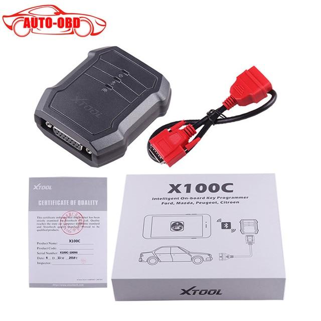 Original XTOOL X100 C Auto Clave Programador X-100 C para iOS y para Android Xtool Xtool X100 C Para Ford/Mazda/Peugeot/Citroen