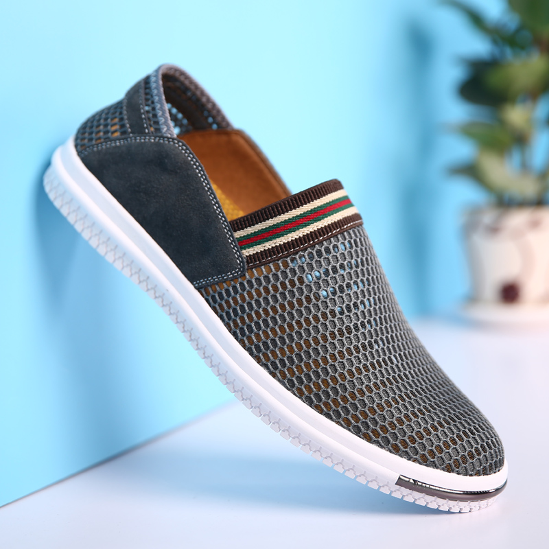 HZHICN Verano Hombres Transpirable Zapatos Nuevo 2017 Slip On Zapatos de Los Hom